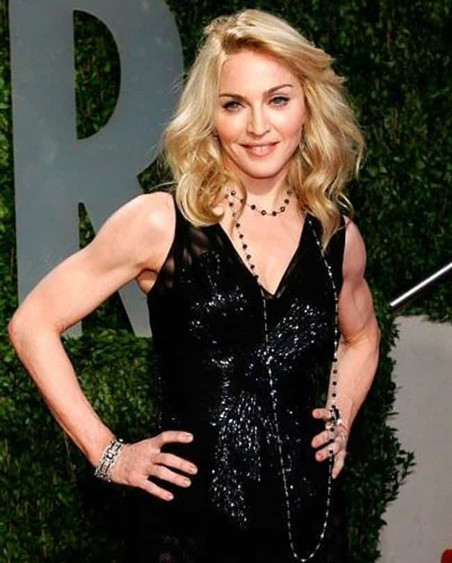 Madonna is listed (or ranked) 3 on the list Female Celebs With The Best Arms