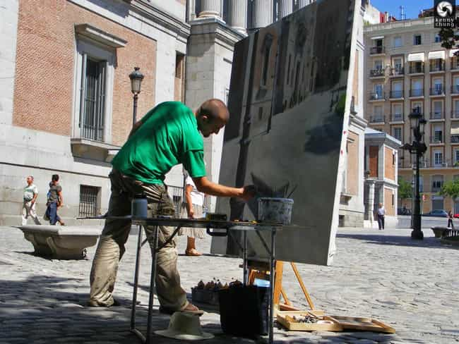 Madrid is listed (or ranked) 2 on the list The Best World Cities for Artists