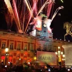 Madrid is listed (or ranked) 25 on the list The Best Cities to Party in for New Years Eve