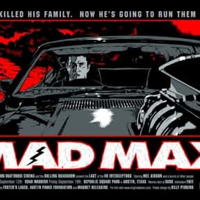 Mad Max is listed (or ranked) 15 on the list The Best Fictional Dystopias to Live In