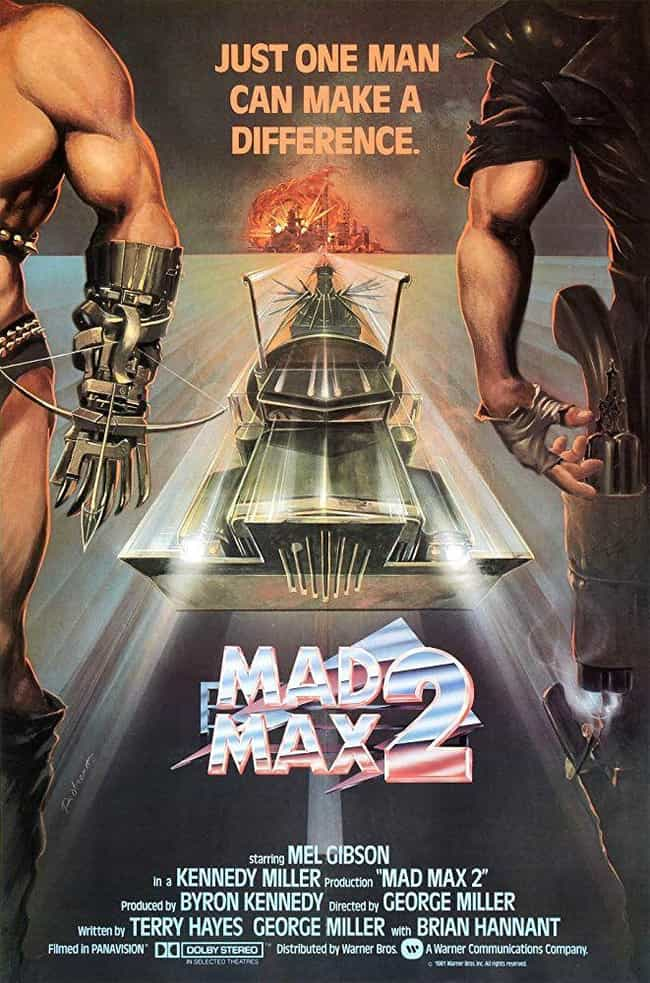 Mad Max 2 is listed (or ranked) 1 on the list Every 'Mad Max' Movie, Ranked Best to Worst