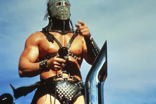 Mad Max 2 is listed (or ranked) 1 on the list The Most Ridiculous Future Fashions In '80s Films