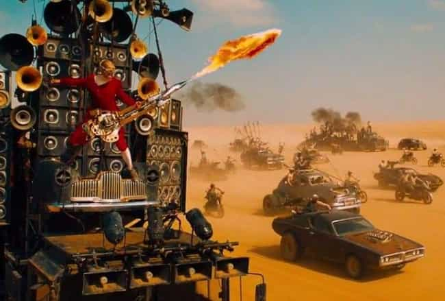 Mad Max: Fury Road is listed (or ranked) 2 on the list This Is What The Year 2018 Should Look Like, According To Science Fiction