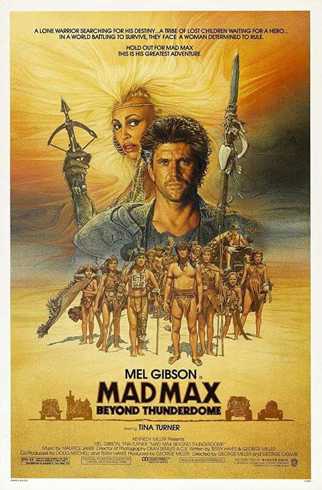 Mad Max Beyond Thunderdo... is listed (or ranked) 4 on the list Every 'Mad Max' Movie, Ranked Best to Worst