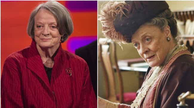 Maggie Smith is listed (or ranked) 2 on the list 20 Actresses Who Pretty Much Play Themselves In All Of Their Films