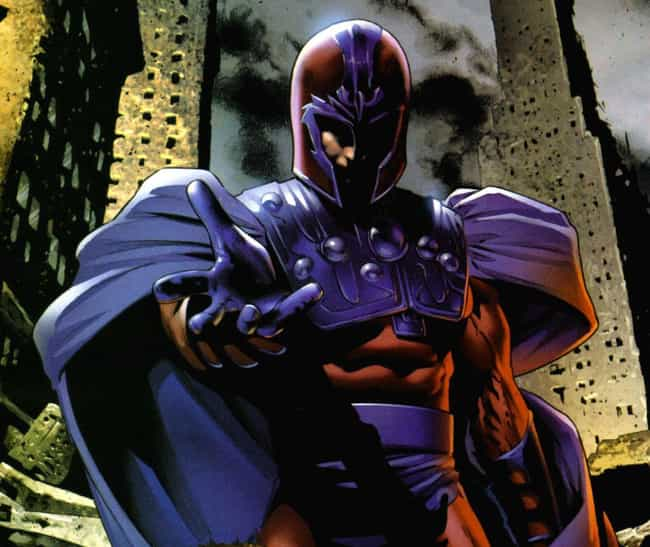 Magneto is listed (or ranked) 4 on the list X-Men Characters Who Should be Rebooted On The Silver Screen