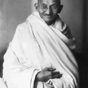 Mahatma Gandhi is listed (or ranked) 7 on the list List of Famous Peace Activists