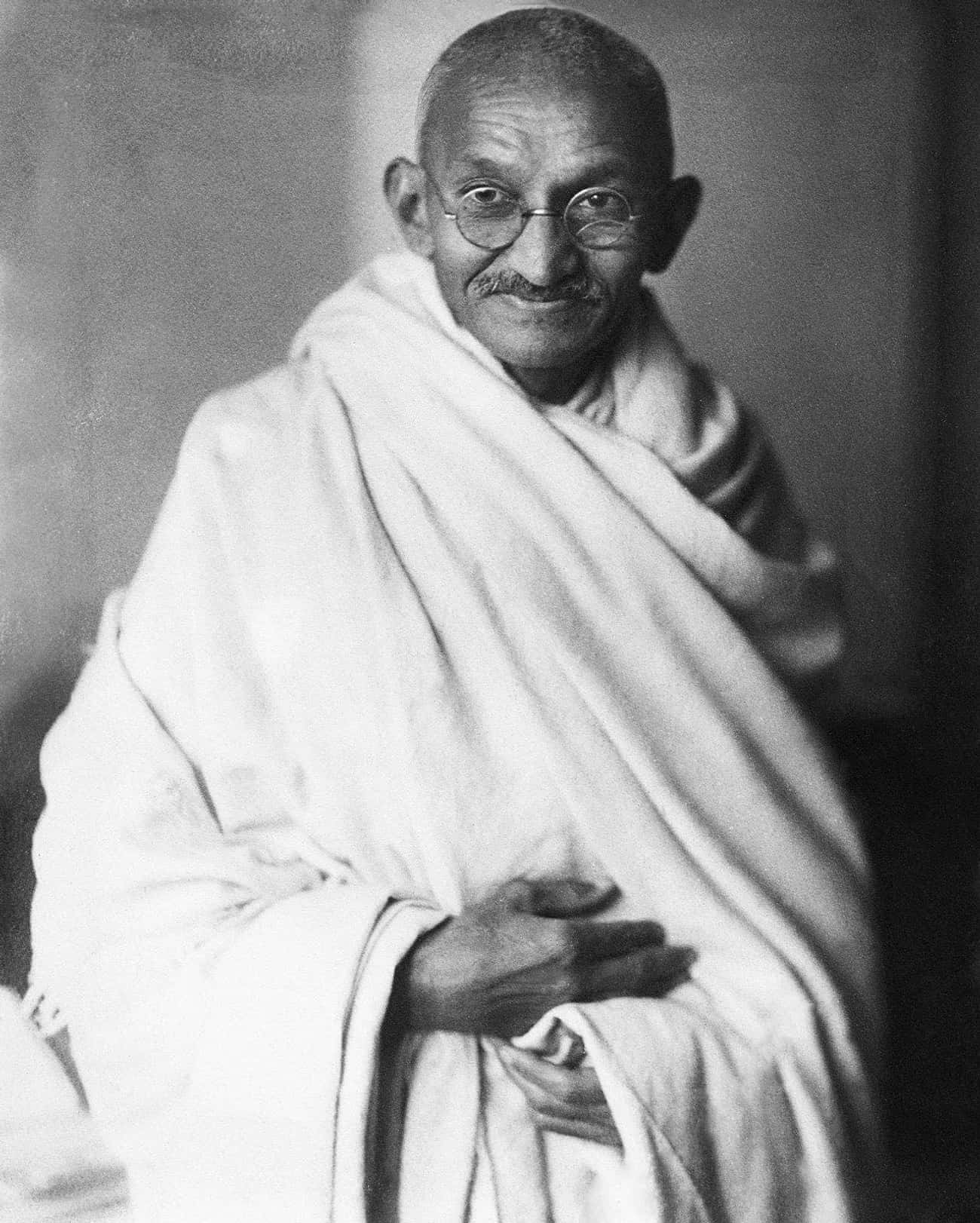 Mahatma Gandhi is listed (or ranked) 2 on the list List of Famous Political prisoners