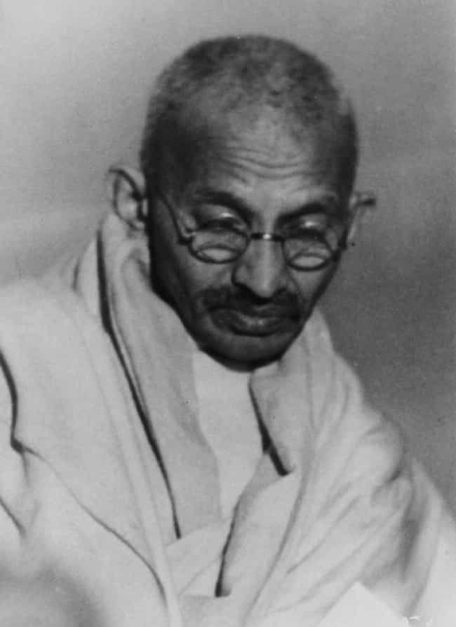 Mahatma Gandhi is listed (or ranked) 2 on the list Historical Figures Who Are Nothing Like The People They're Painted To Be