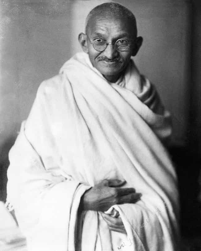 Mahatma Gandhi is listed (or ranked) 4 on the list 20 Famous People Who Went to Law School