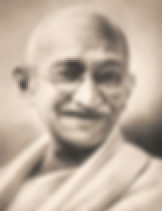 Mahatma Gandhi is listed (or ranked) 5 on the list The 13 Most Historically Important Perverts of All Time