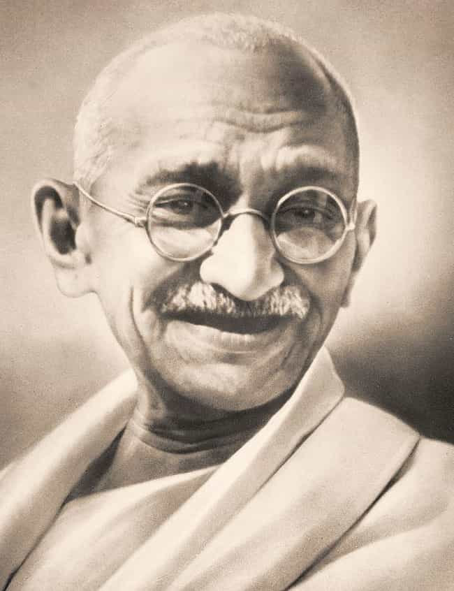 Mahatma Gandhi is listed (or ranked) 3 on the list 29 Famous People Who Went to Law School