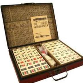 Mahjong is listed (or ranked) 14 on the list The Best Classic Board Games
