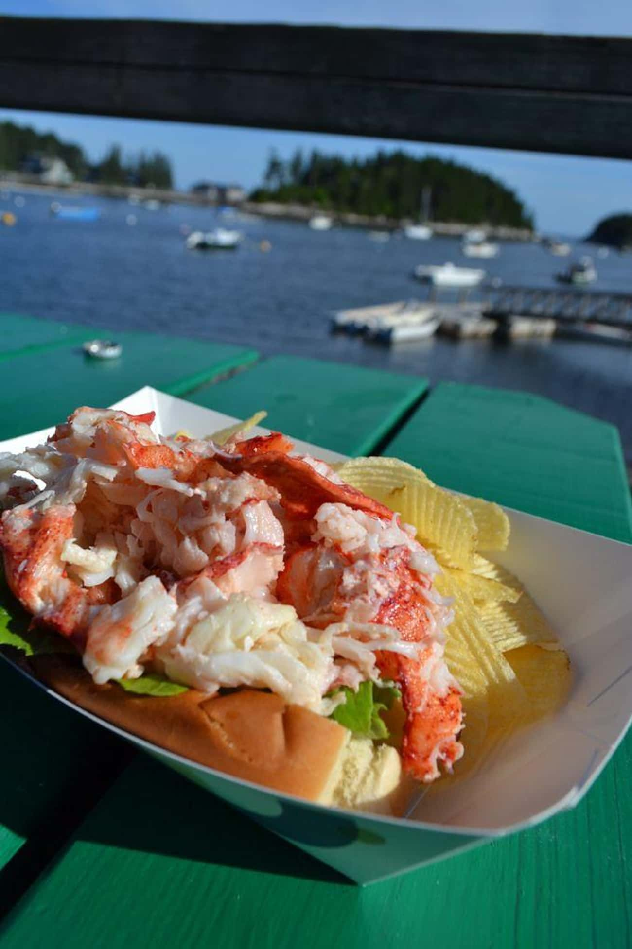 Maine - Lobster Roll is listed (or ranked) 2 on the list The Best State Sandwiches