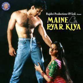 Maine Pyar Kiya is listed (or ranked) 16 on the list The Best Bollywood Movies of All Time