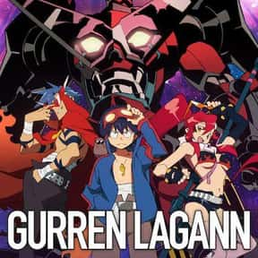Gurren Lagann is listed (or ranked) 23 on the list The 100+ Best Anime Streaming On Hulu