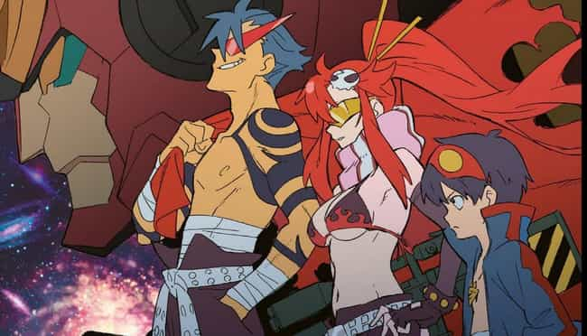 Gurren Lagann is listed (or ranked) 3 on the list The 24 Best Anime That Isn't Based On A Manga Series