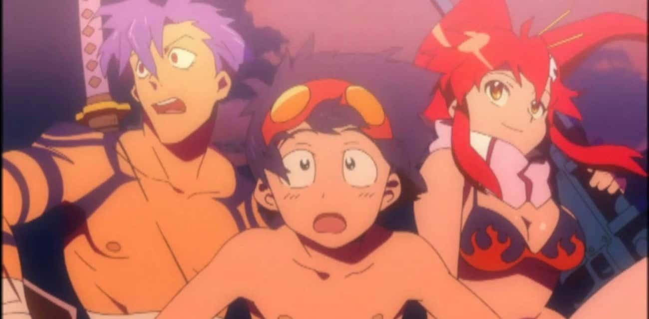 Gurren Lagann is listed (or ranked) 2 on the list The 13 Best Anime Like Kill La Kill
