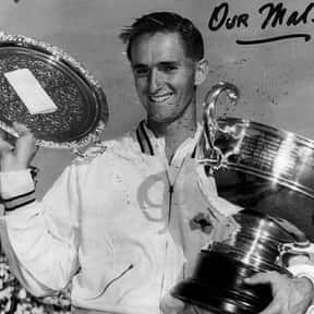 Mal Anderson is listed (or ranked) 13 on the list The Best Men's Tennis Players of the 1950s