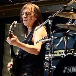 Malcolm Young is listed (or ranked) 6 on the list Famous Guitar Players from Australia