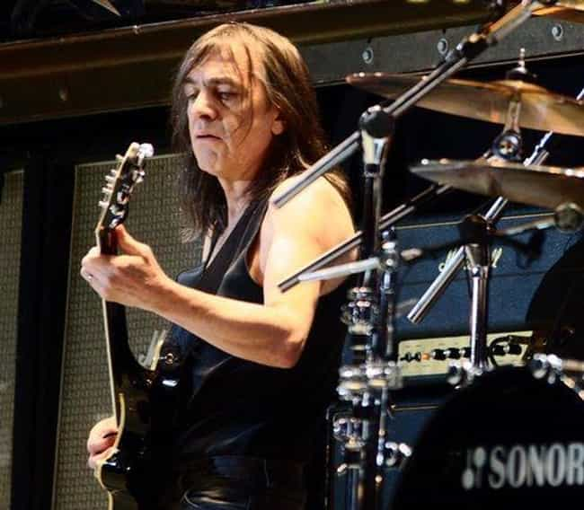 Malcolm Young is listed (or ranked) 9 on the list Male Celebrities Who Are 5'3