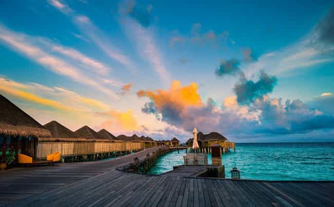 Maldives is listed (or ranked) 3 on the list The Most Beautiful Countries in Asia