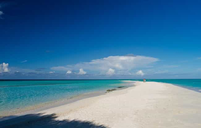Maldives is listed (or ranked) 4 on the list The Countries with the Best Beaches