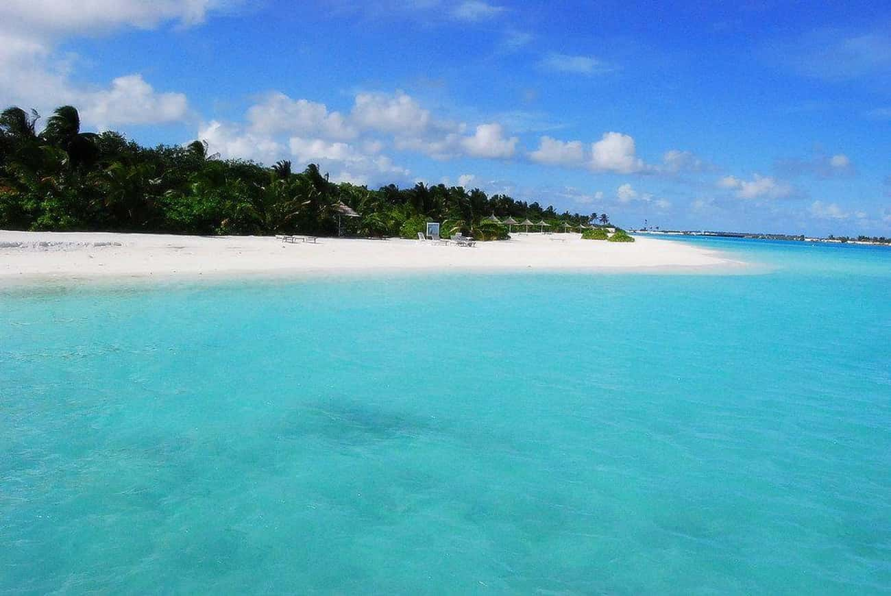 Maldives is listed (or ranked) 3 on the list The Countries with the Best Beaches