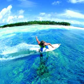 Maldives is listed (or ranked) 17 on the list The Best Countries for Surfing