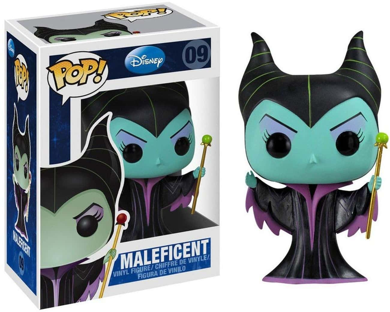 Maleficent is listed (or ranked) 4 on the list The Cutest Funkos Of The Most Irredeemably Evil Characters