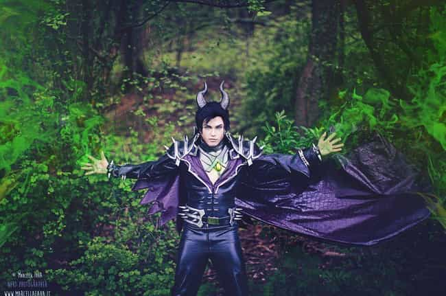 Maleficent is listed (or ranked) 3 on the list 20 Hot Nerd Dudes in Unbelievably Sexy Genderbending Cosplays