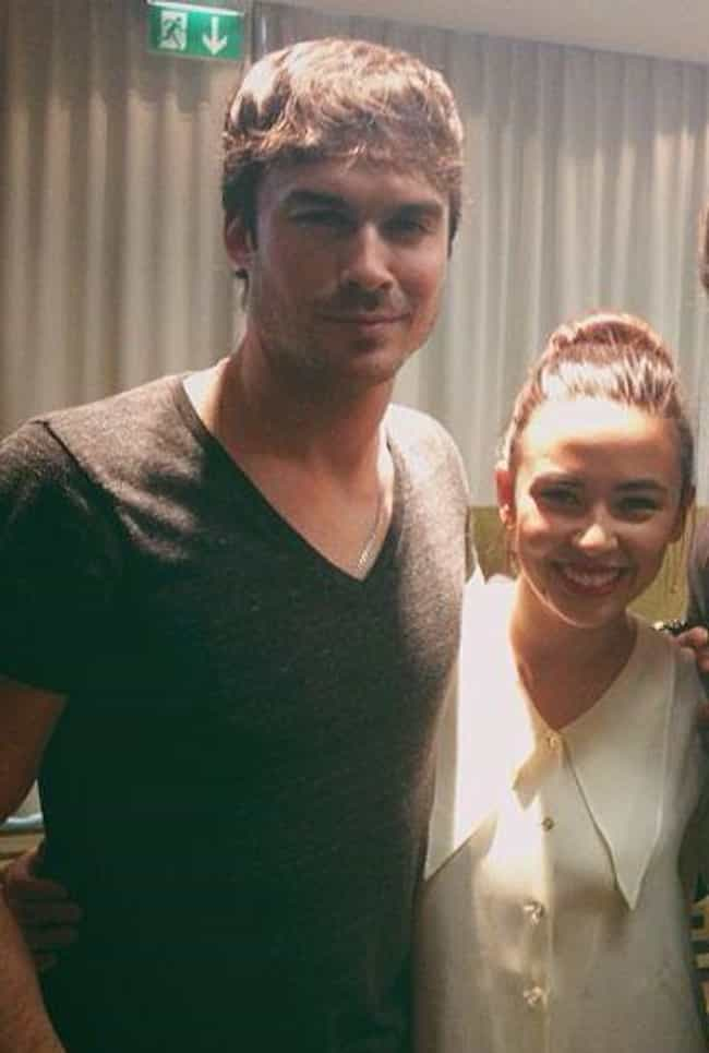 Malese Jow is listed (or ranked) 2 on the list Ian Somerhalder Loves and Hookups