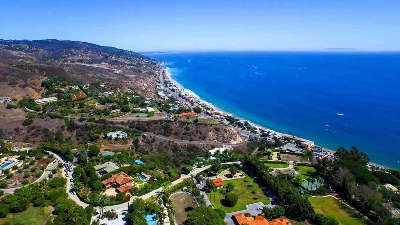 Malibu, CA is listed (or ranked) 3 on the list The Most Beautiful Cities in the US