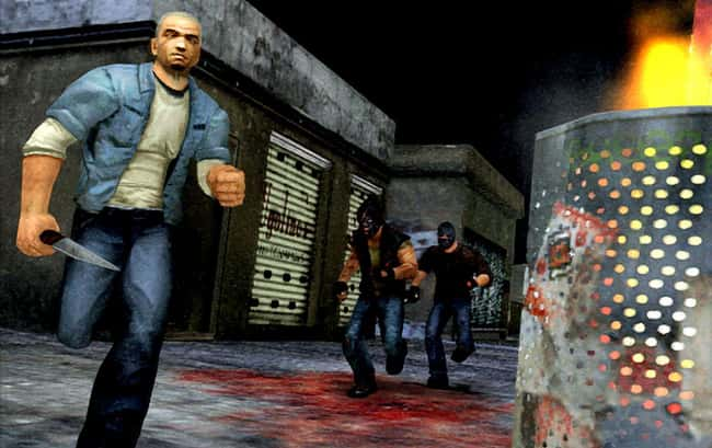 Manhunt is listed (or ranked) 5 on the list Most Controversial Video Games That Have Ever Been Released