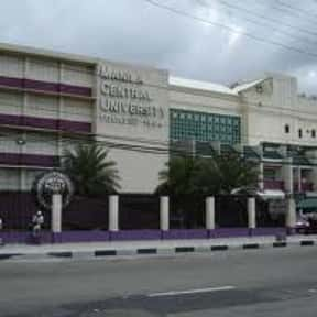Manila Central University is listed (or ranked) 2 on the list Jaguar Mascot School List