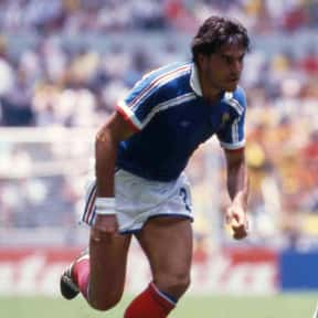 Manuel Amoros is listed (or ranked) 18 on the list The Best French Soccer Players & Footballers of All Time