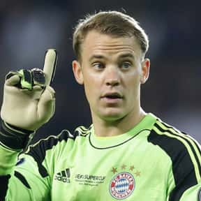 Manuel Neuer is listed (or ranked) 8 on the list The Best Soccer Goalies of All Time