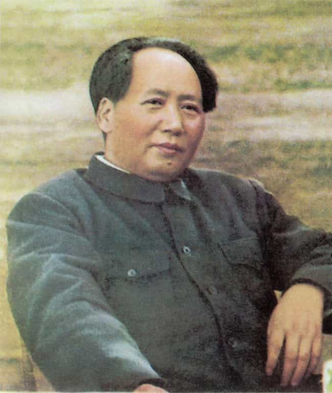 Mao Zedong is listed (or ranked) 1 on the list Signature Afflictions Suffered By History's Most Famous Despots