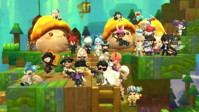 MapleStory is listed (or ranked) 4 on the list The 20 Best Free To Play Anime Games For Otaku On A Budget