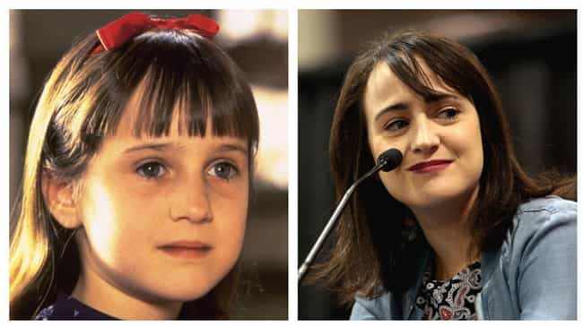 Mara Wilson is listed (or ranked) 4 on the list You Won't Believe What The Stars of 'Matilda' Look Like Now