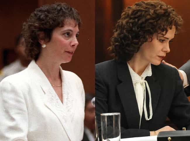 Marcia Clark is listed (or ranked) 3 on the list How Insiders Have Reacted to the OJ Show