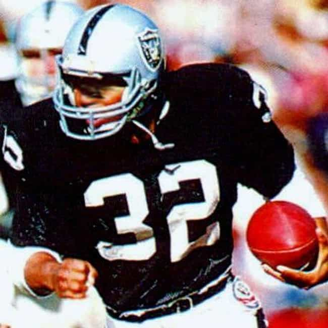 Marcus Allen is listed (or ranked) 3 on the list Every Raiders Player In The Football Hall Of Fame