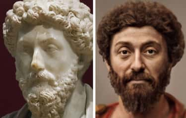 Marcus Aurelius is listed (or ranked) 2 on the list What 15 Historical Figures Really Looked Like According To A.I.