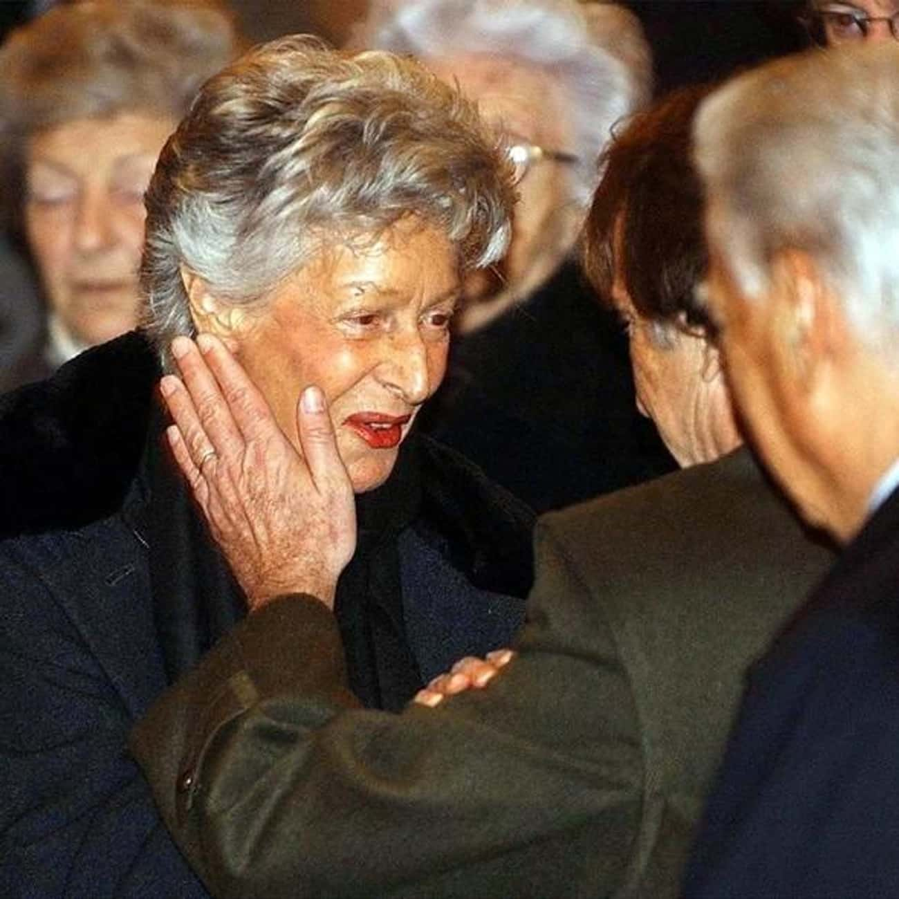 Marella Agnelli is listed (or ranked) 4 on the list Members of the Agnelli Family