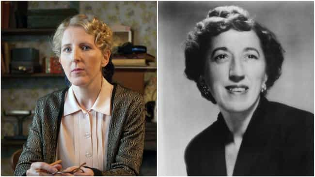 Margaret Hamilton is listed (or ranked) 3 on the list 'Judy' Actors Vs. The Real-Life People They're Portraying
