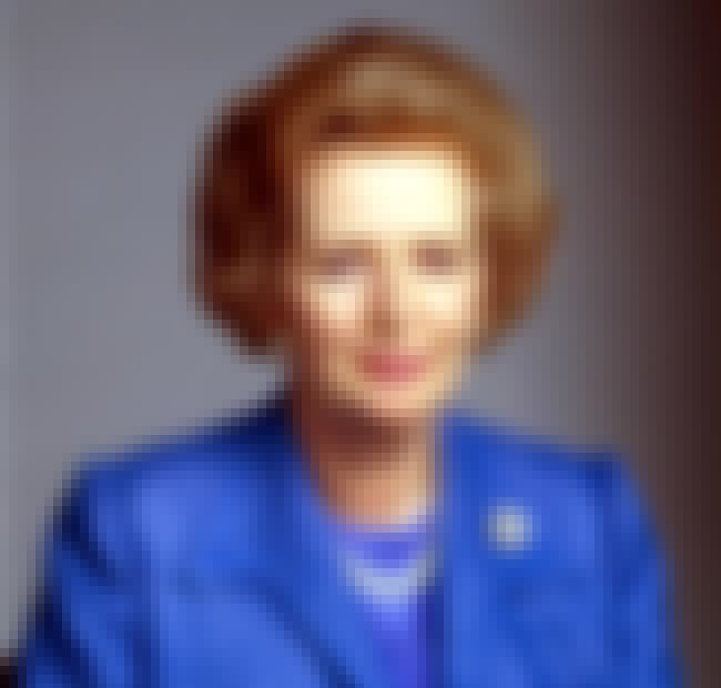 Margaret Thatcher is listed (or ranked) 1 on the list Famous Female Scientists