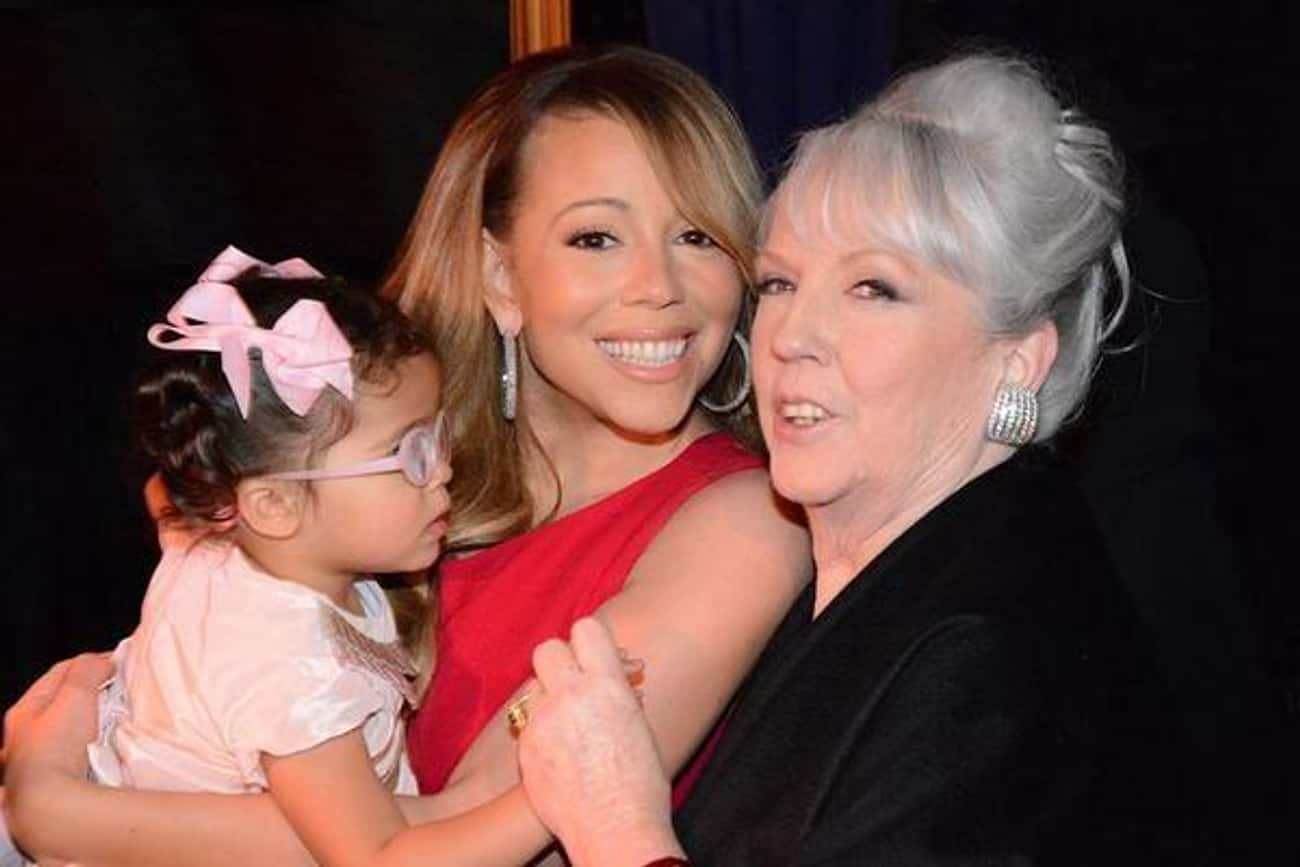 Mariah Carey is listed (or ranked) 3 on the list Biracial Celebrities List