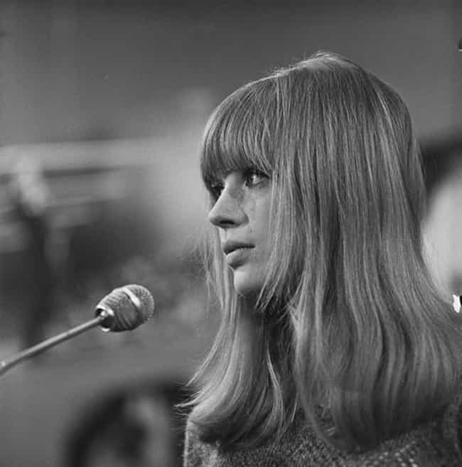 Marianne Faithfull is listed (or ranked) 4 on the list The All Time Greatest Muses in the Music World