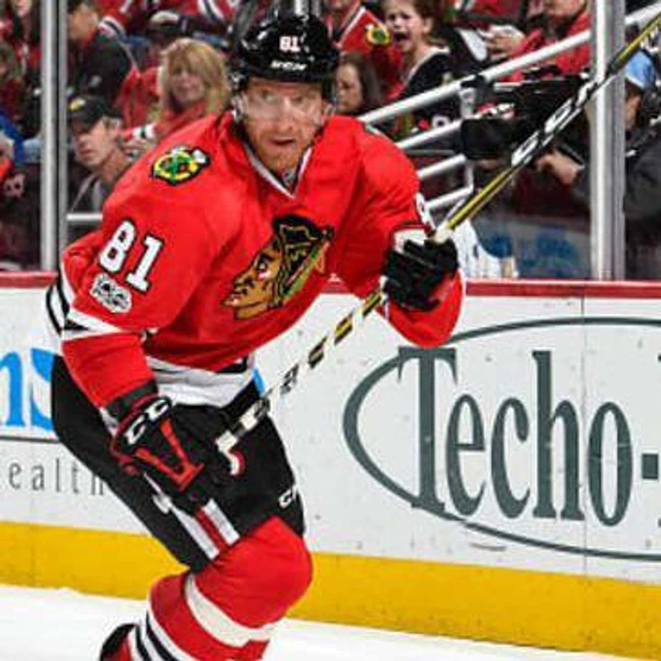 Marián Hossa is listed (or ranked) 2 on the list The Best Athletes Who Wore #81