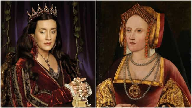 Maria Doyle Kennedy is listed (or ranked) 4 on the list Cast Of 'The Tudors' Vs. The Real People